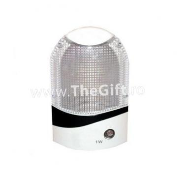 Lampa de veghe, cu senzor de lumina