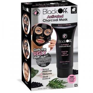 Masca neagra puncte negre Black Mask Black Off 82 ml carbune de la Www.oferteshop.ro - Cadouri Online