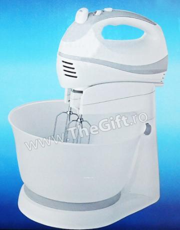 Mixer cu bol rotativ Victronic, 200 W de la Thegift.ro - Cadouri Online