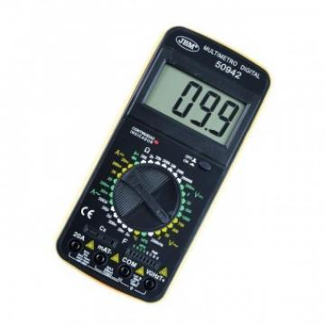 Multimetru digital JBM 53942, sonda de temperature, 20 A de la Viva Metal Decor Srl
