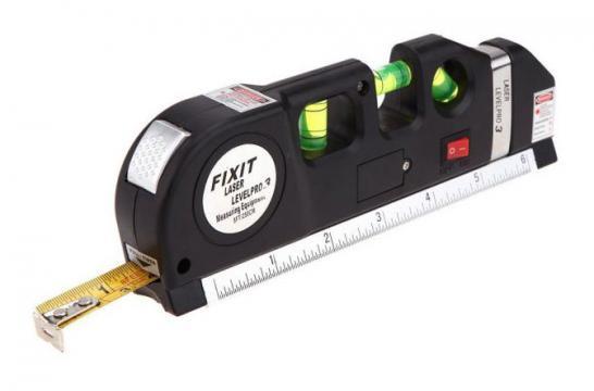 Nivela cu laser, boloboc si ruleta, LevelPro 3 de la Thegift.ro - Cadouri Online