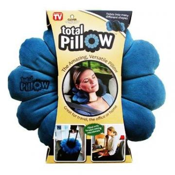 Perna modelabila pentru relaxare totala Total Pillow de la Www.oferteshop.ro - Cadouri Online