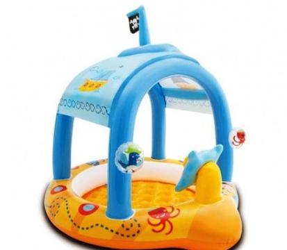 Piscina gonflabila Intex Pirates pentru copii