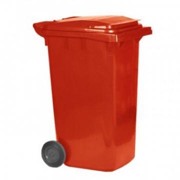 Pubela gunoi 240L, Strend Pro MGB 240 litri, culoare rosie