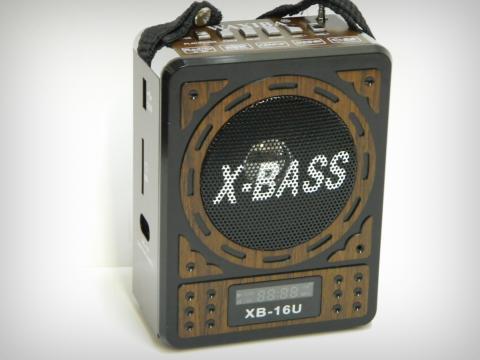 Radio Waxiba XB-16U cu MP3 si ceas LCD de la Preturi Rezonabile