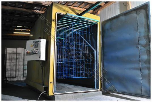 Servicii vopsitorie electrostatica de la Rolix Impex Series Srl
