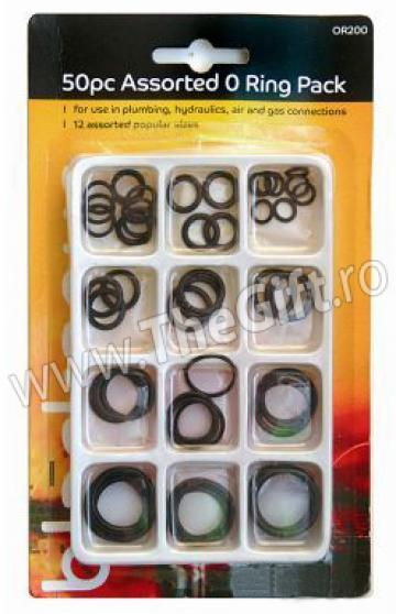 Set 50 o-ringuri de diverse marimi