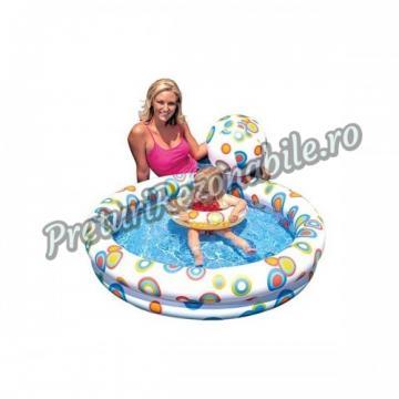 Set piscina, colac si minge gonflabile Intex 59460 de la Preturi Rezonabile