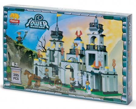 Jucarie Set constructie Castel - mediu