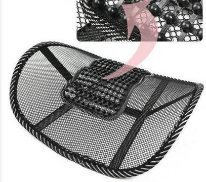 Set de 2 perne pentru suport lombar pentru scaun fara dureri de la Www.oferteshop.ro - Cadouri Online