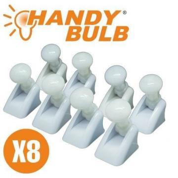 Set de 8 becuri mini Handy Bulb LED fara fir cu intrerupator