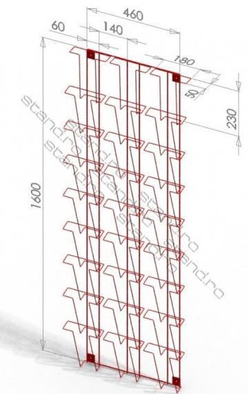 Stand / display publicitar (POSM) 0104 de la Rolix Impex Series Srl