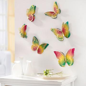 Sticker 3D pentru perete Fluturi Magici de la Plasma Trade Srl (happymax.ro)