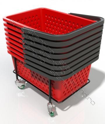 Suport mobil cosuri supermarket 1054 de la Rolix Impex Series Srl