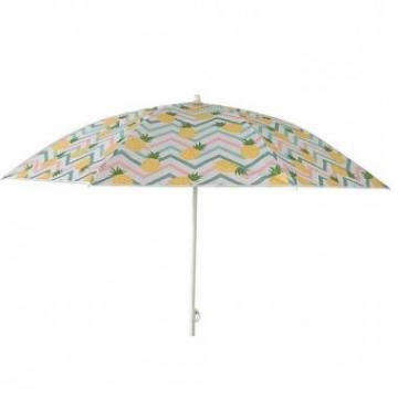 Umbrela de plaja Strend Pro Pineapple, diametru 180 cm