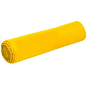 Saci menaj LDPE - galbeni - 120 litri - 10 buc de la Medaz Life Consum Srl
