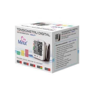 Tensiometru electronic pentru incheietura B13W de la Medaz Life Consum Srl