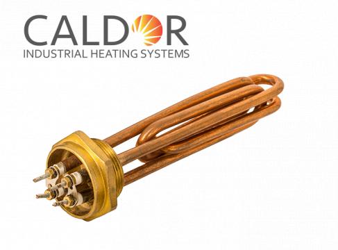 Rezistenta pentru boiler cu spire din cupru, 4000W de la Caldor Industrial Heating Systems Srl