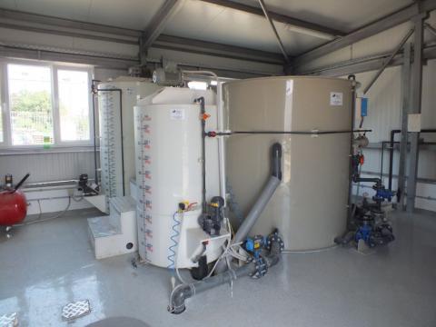 Statii de epurare ape uzate generate de termocentrale de la Asio Romania S.r.l.