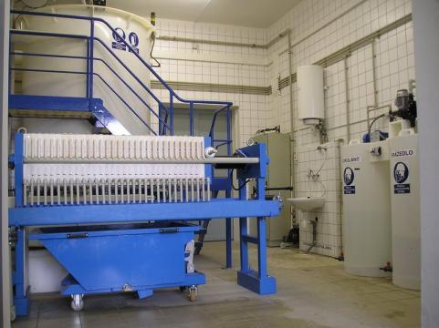 Statii de epurare ape uzate in industria tipografica de la Asio Romania S.r.l.