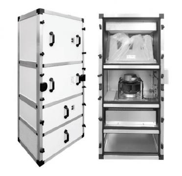 Unitate purificare aer UPA-UV-4500-HEPA-CG