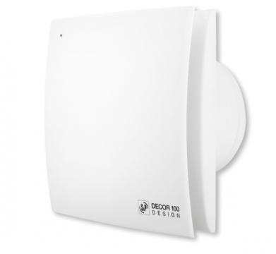 Ventilator de baie Decor-100 CRZ Design de la Ventdepot Srl