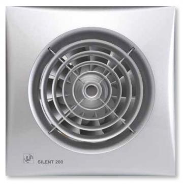 Ventilator de baie Silent-200 CRZ Silver
