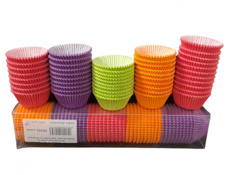 Chese colorate prajituri Ø5xh3cm 1000 buc/set de la Cristian Food Industry Srl.