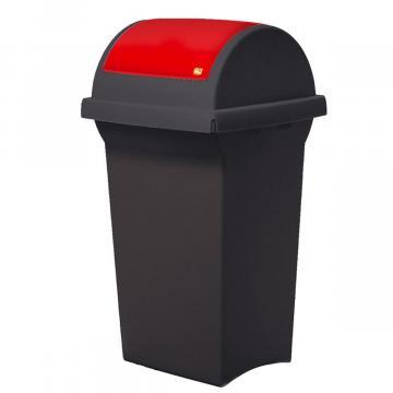 Cos de gunoi cu capac oscilobatant Tata, 50 litri de la Sirius Distribution Srl