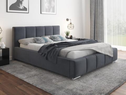 Pat Bardo 160 cm, piele ecologica de la CB Furniture Srl