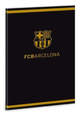 Caiet cu file albe A/5 cu design Barcelona #negru