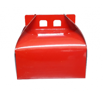 Cutii tort rosii CT2 (27x27xh16cm) 25 buc/set de la Cristian Food Industry Srl.