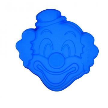Forma din silicon pentru prajitura Clown de la Plasma Trade Srl (happymax.ro)