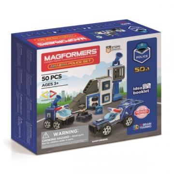Joc de constructie cu piese magnetice, Magformers 50 piese de la Arca Hobber Srl