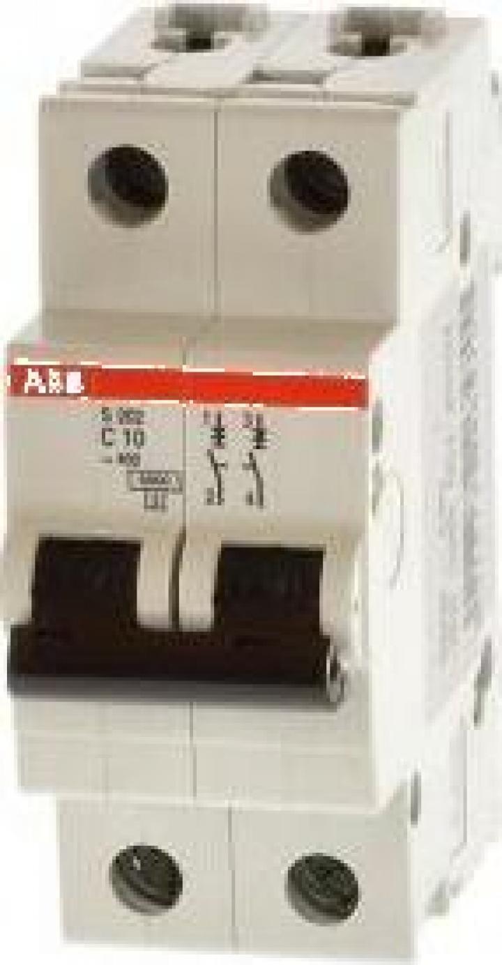Intrerupator automat bipolar ABB 25A/1N, 4.5kA