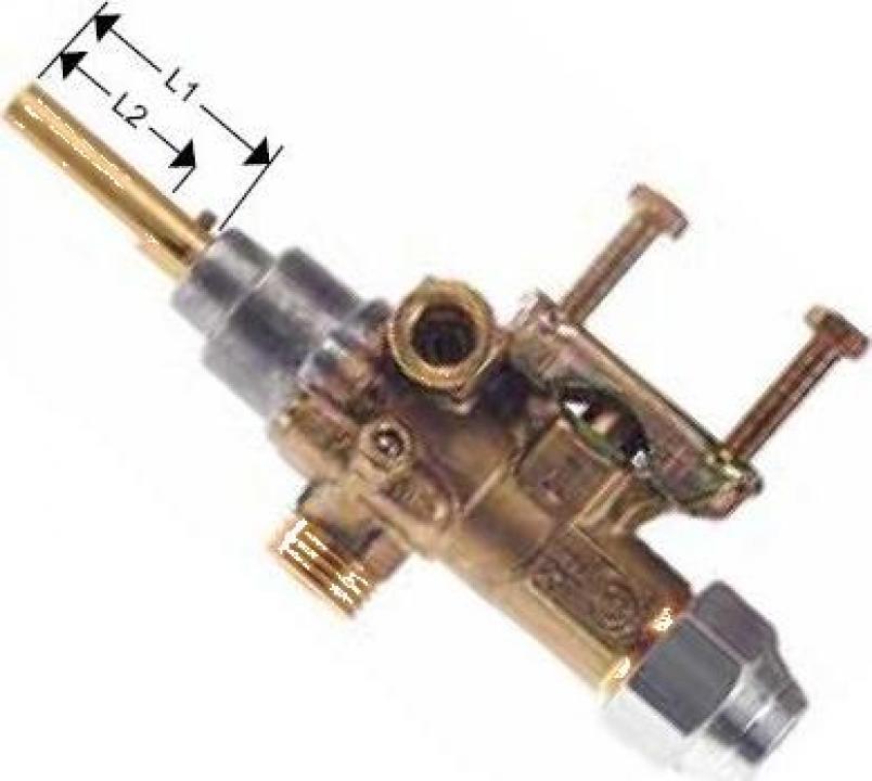 Robinet de gaz PEL 21S, intrare gaz 21mm 101897