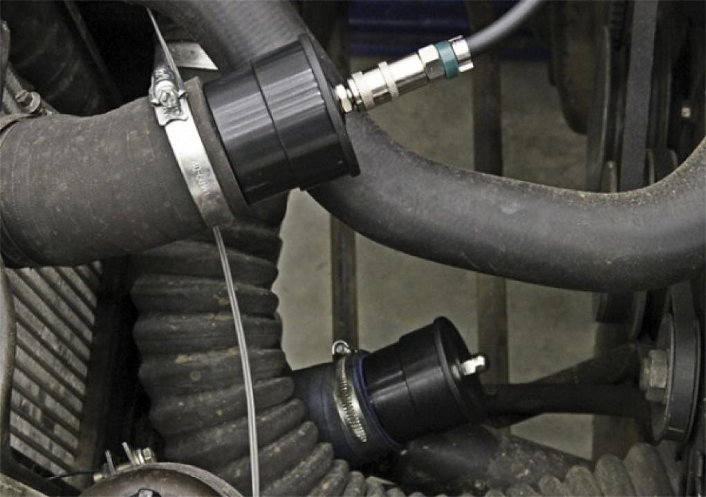 Tester pentru circuitul turbosuflantei