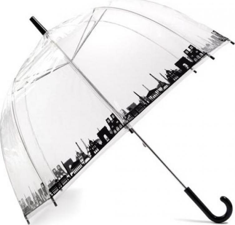 Umbrela transparenta Paris
