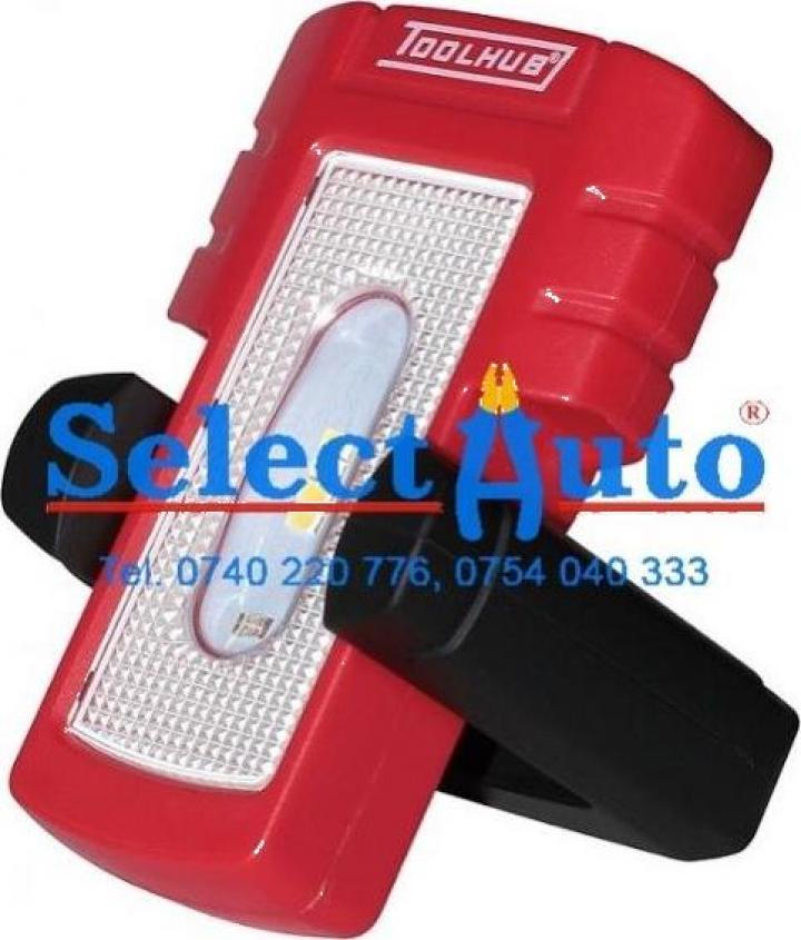 Lampa portabila cu Led SMD 4+1