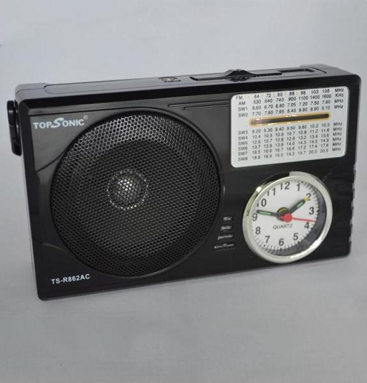Radio portabil cu ceas si alarma Topsonic TS-R862AC