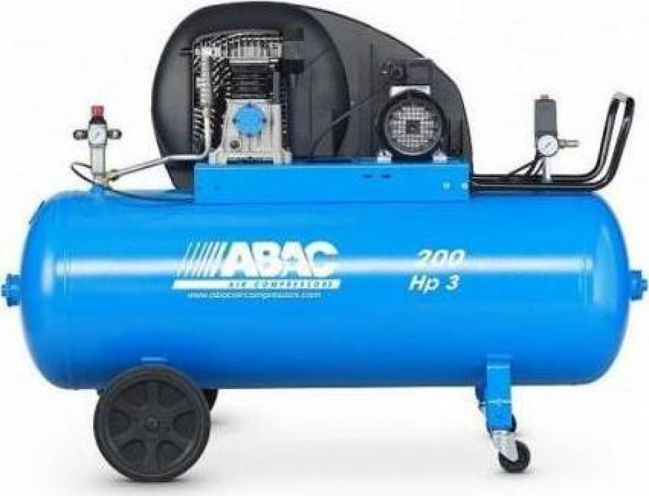 Compresor profesional cu piston Abac A29B 200 CT3