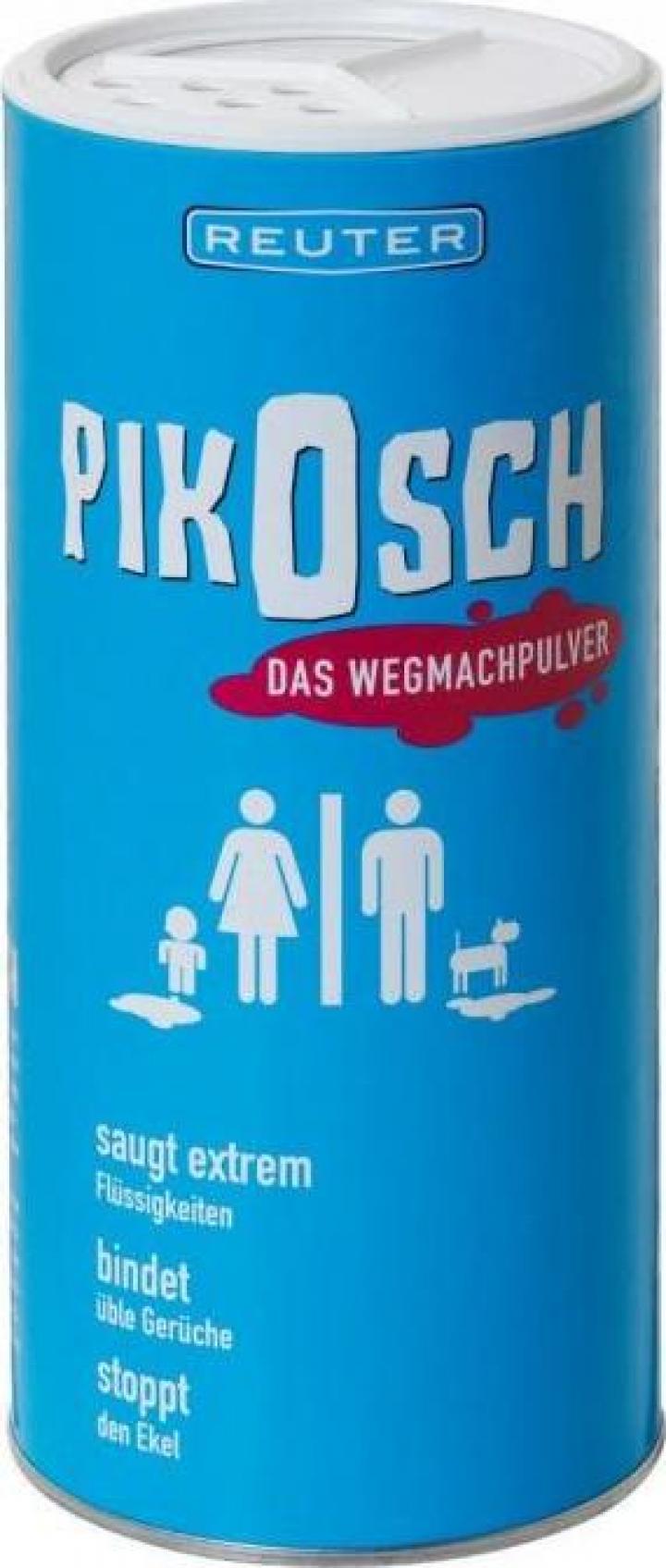 Pudra Pikosch indepartare lichide (urina, sange, voma)