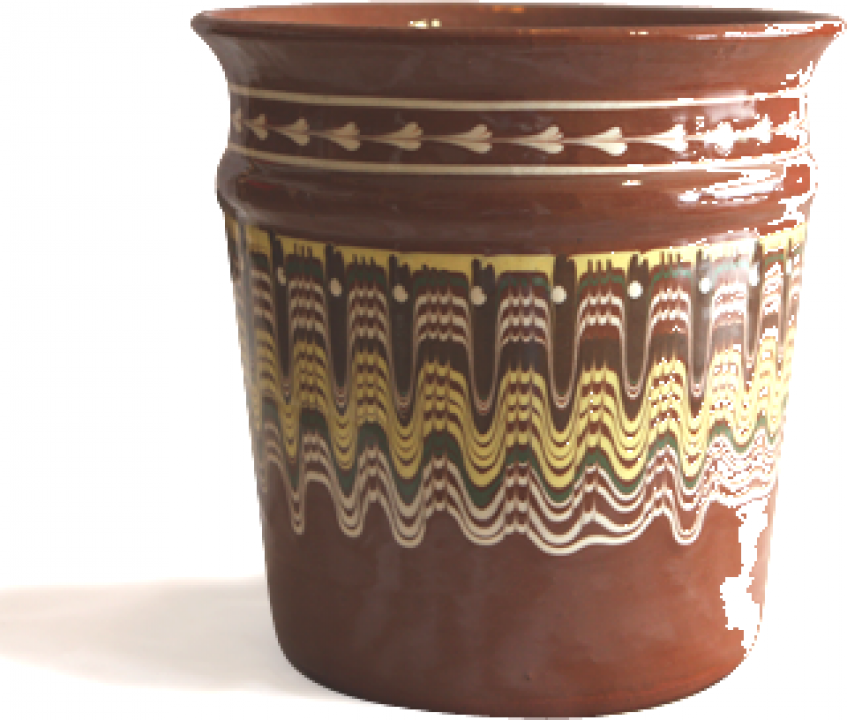 Galeata pentru sampanie ceramica, lut