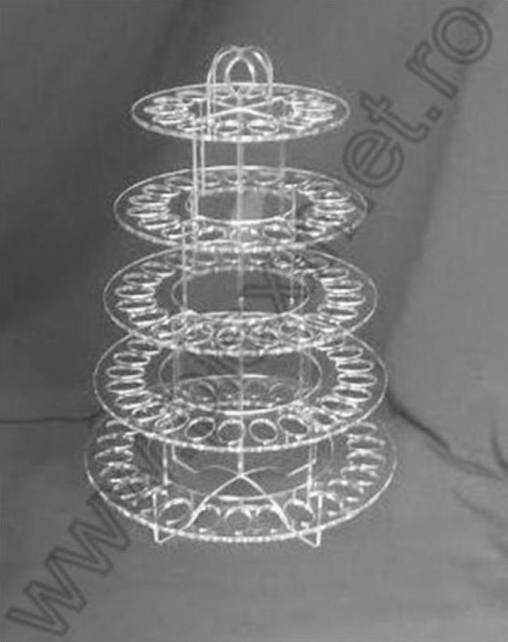 Suport inelar 5 nivele expunere macarons SPEv 1.2