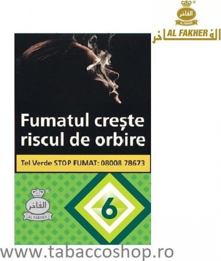 Tutun de narghilea Al Fakher No.6 (menta) 50gr