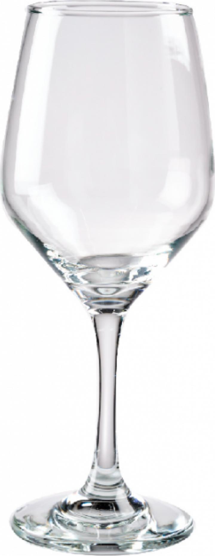 Set 6 pahare sticla pentru vin rosu 408cc Cristar Brunello