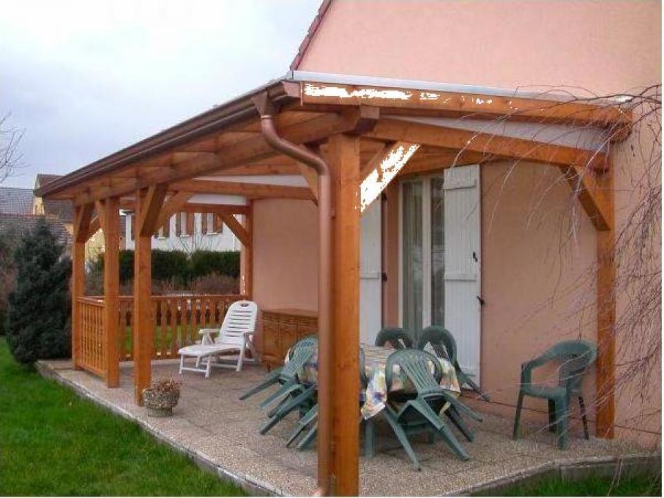 Pergola din lemn pentru terasa Ilfov si Bucuresti