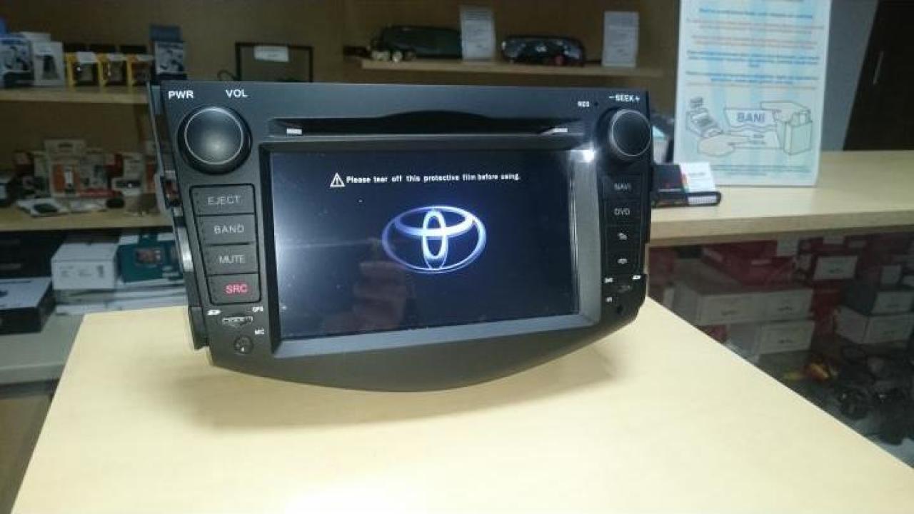 Sistem navigatie Toyota Rav cu Android 10