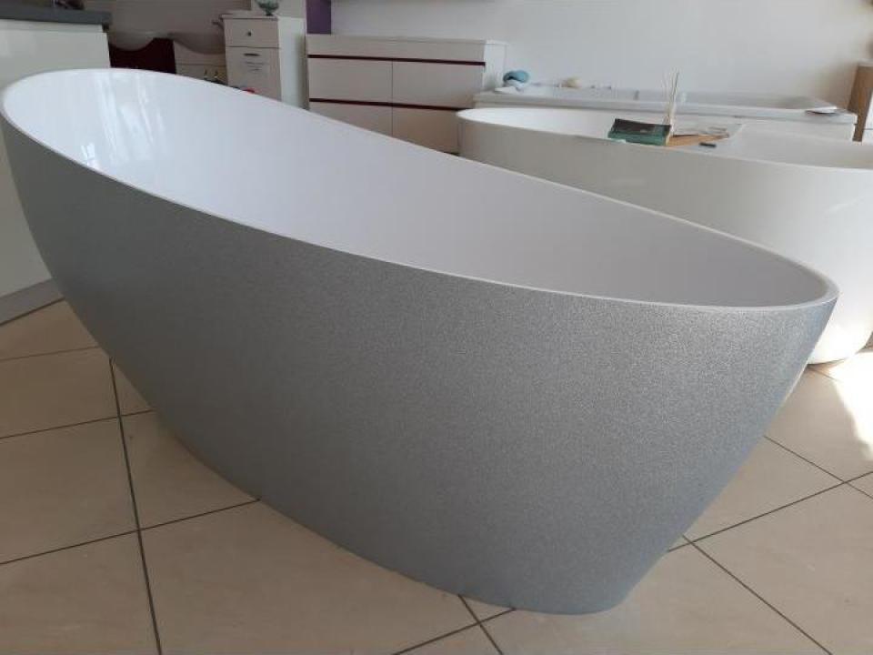 Cada baie Lux compozit freestanding 179x75 cm