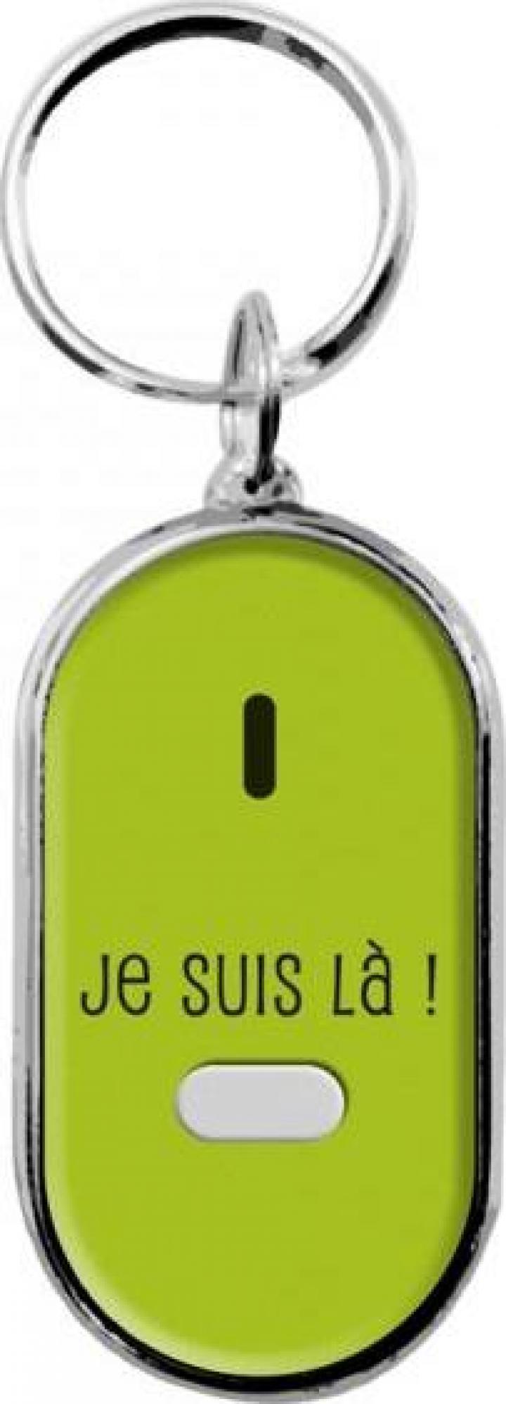 Breloc pentru gasire chei-verde